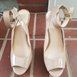 Jessica Simpson's Stelitto shoes